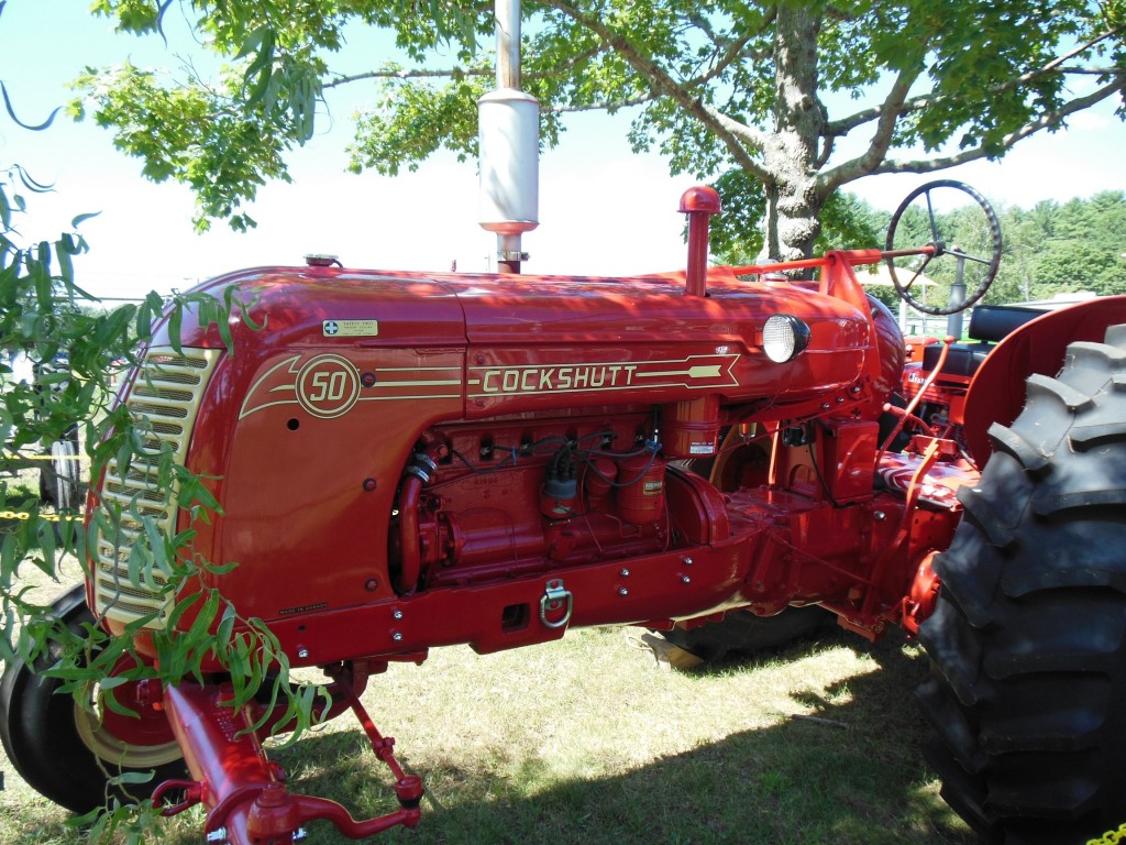 Have you ever seen a tractor as beautiful as this one? It took first place in a field of about 60 gorgeous machines.