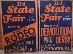 This was one of only two fairs in the state for many years. The highlight for me was the demolition derby. Rocky Hill closed down over 20 years ago.