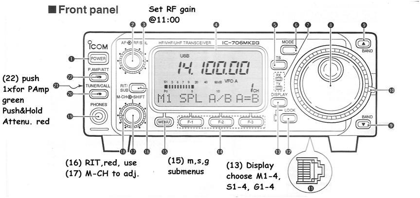 icom ic 706mkiig operation guide ke1ri a new england ham rh idlenot com Icom IC- 9100 Icom IC- 7200