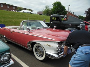 It's a 1960 Plymouth Fury in superb condition. What a ride!