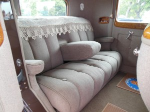 Packard 120; I could sit in this rear seat all day!
