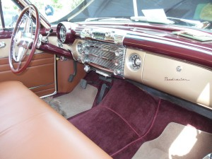 The designation on the glove box door confirms that it is a Roadmaster.
