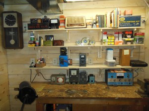 Some of these items are functional and others just collectible stuff that I think is neat. I hope that the new shop will encourage me to put more of an effort into fixing up old radios.